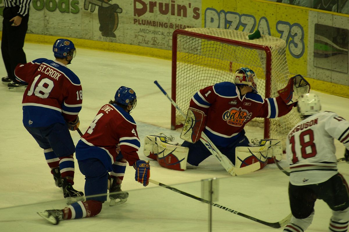 A playoff victory on opening night was just out of reach for Keegan Lowe and the rest of the Oil Kings.