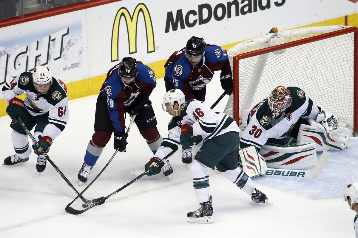 The Wild suffered a disappointing loss at Nathan MacKinnon's (oh, and the Avs') hands.