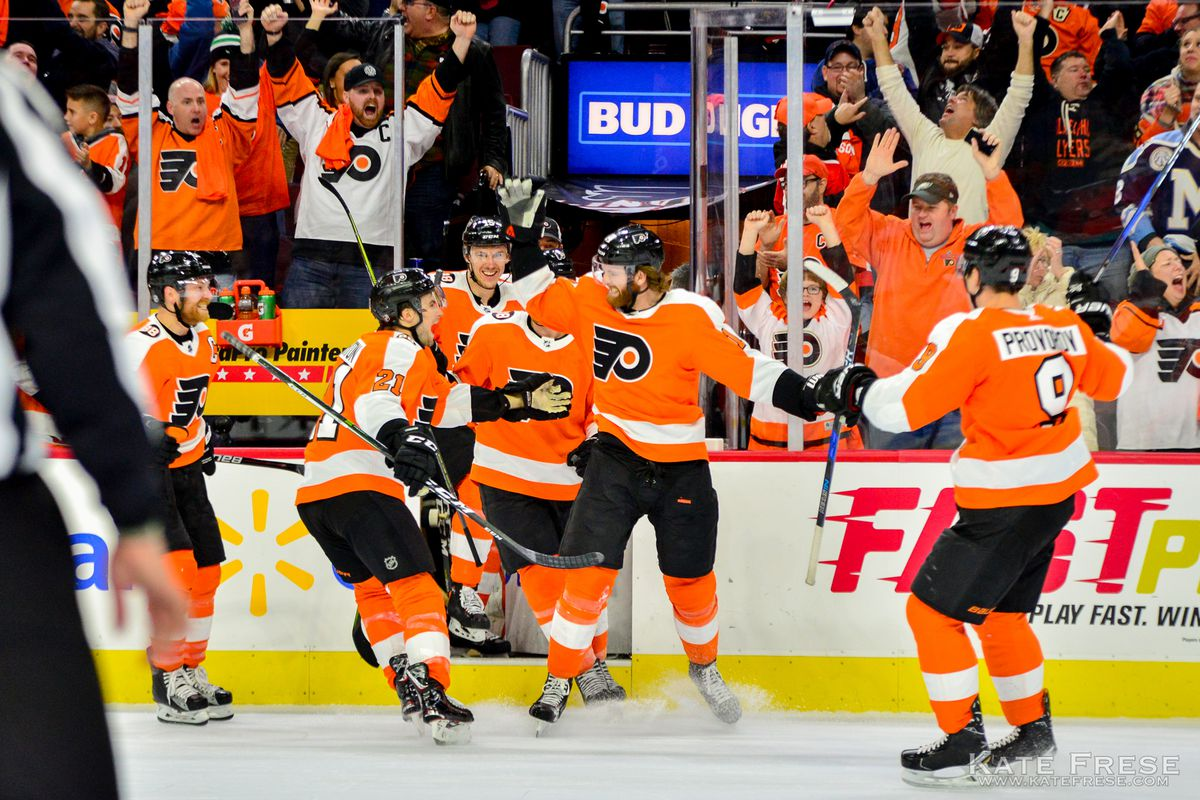 e548082e14e The best photos from the Flyers' OT win against the Leafs and Eric ...