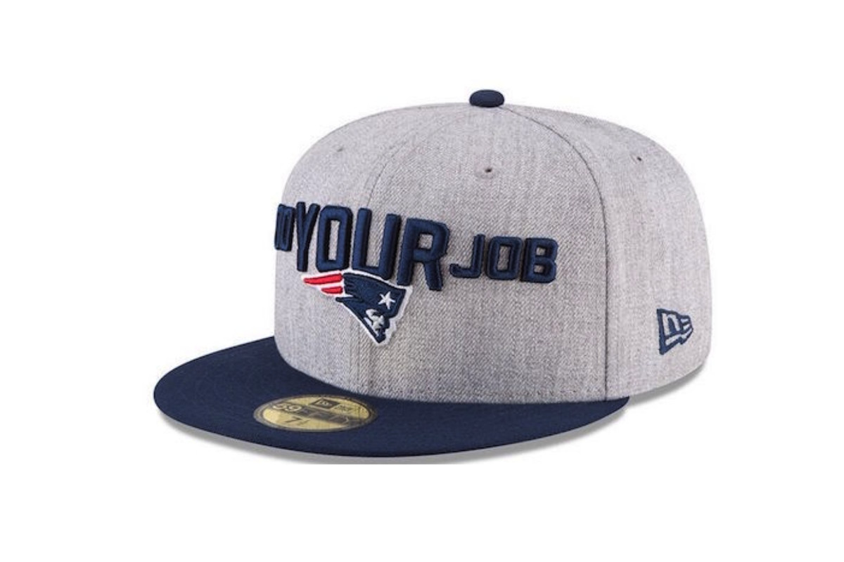 POLL  What do you think of this year s Patriots draft day hats ... b6958dfc2cf