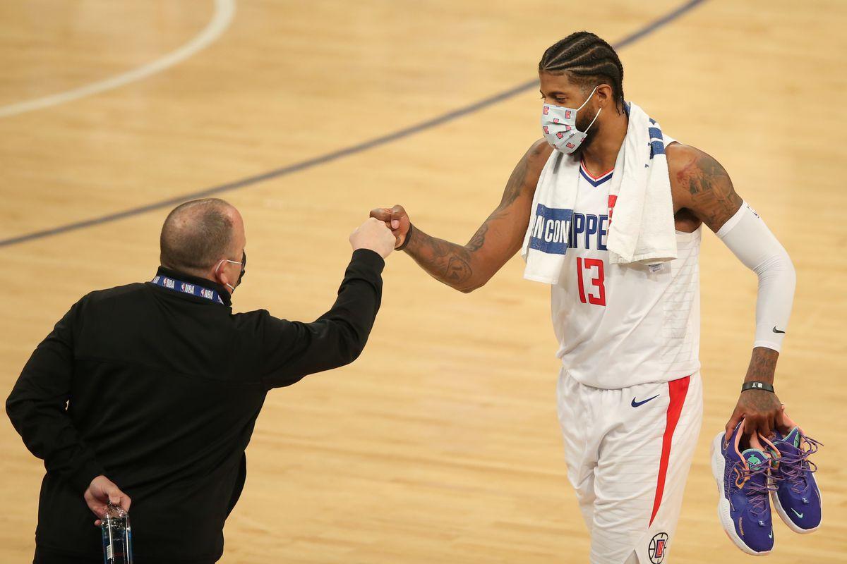 NBA: Los Angeles Clippers at New York Knicks