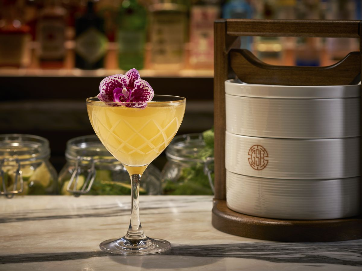 The 43 cocktail at Gerrard Street Kitchen