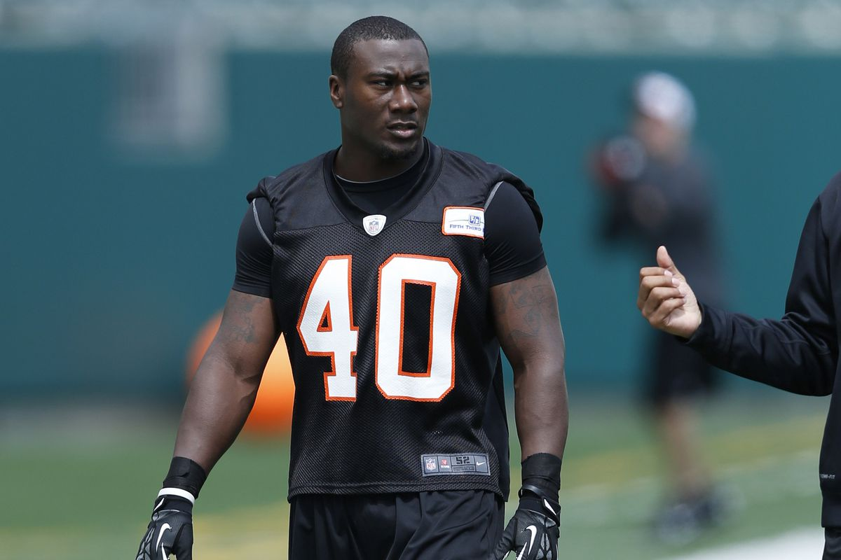 5b5f7c86f3a Shawn Williams Signs Four-Year Extension With Cincinnati Bengals ...