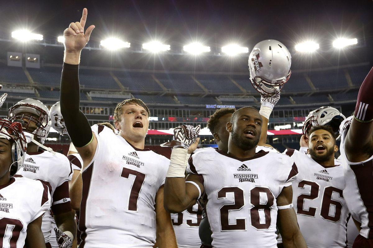 NCAA Football: Mississippi State at Massachusetts