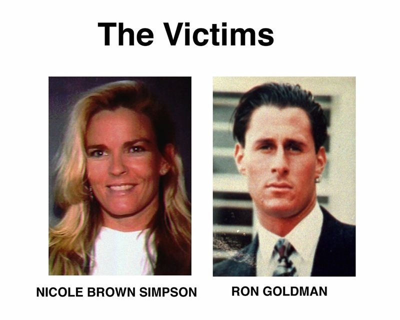 """This file combination photo shows Nicole Brown Simpson, left, and Ron Goldman. The June 12, 1994, killings of Nicole Brown Simpson and her friend Ron Goldman brought the """"Trial of the Century"""" that saw O.J. Simpson acquitted of the murders. (AP Photo, Fil"""
