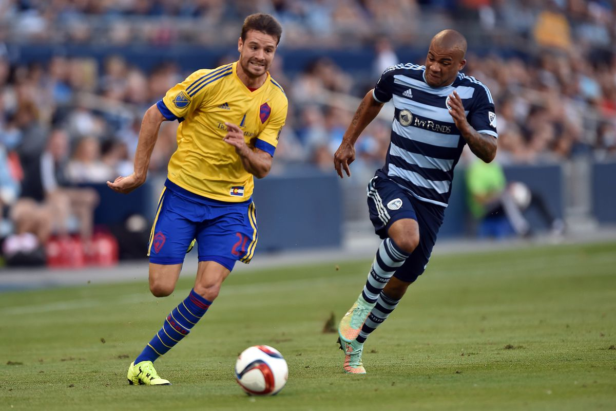 Solignac's pace and aggressiveness were one of the few bright spots for our Colorado Rapids.