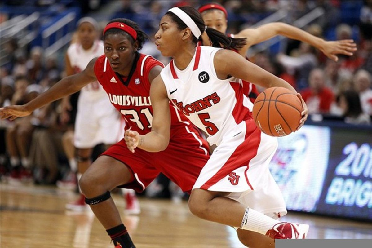 Senior guard <strong>Nadirah McKenith</strong> will undoubtedly be the Red Storm's leader in 2012-13.