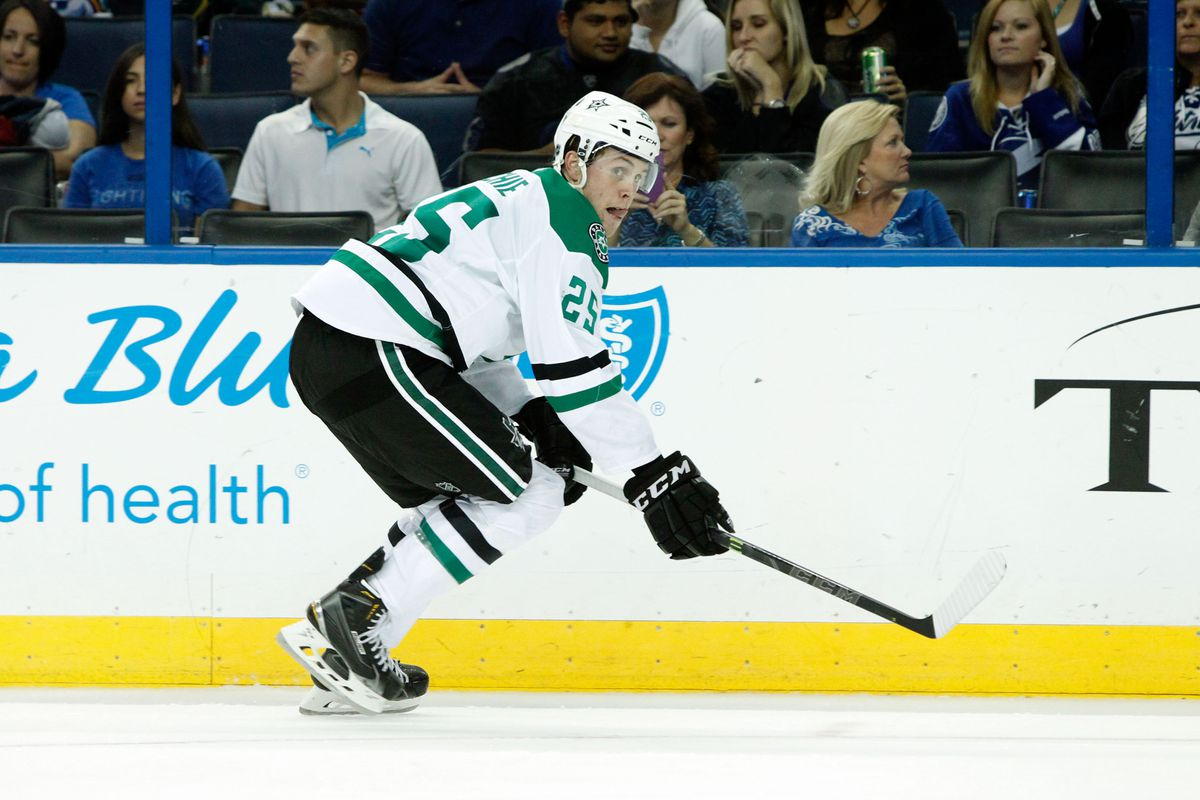 Until recently, Brett Ritchie featured for Dallas' AHL Affiliate. Who might be next up I-35?