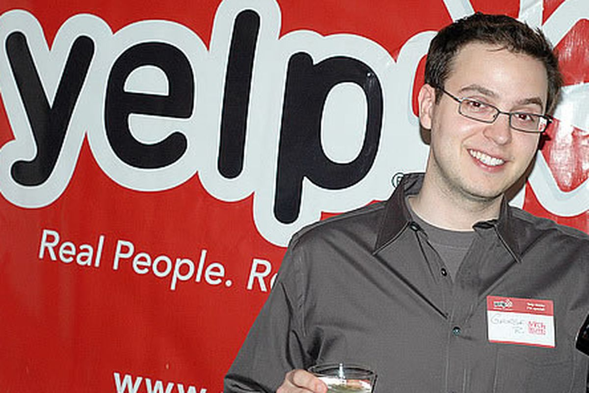 New management service will change your Yelp rating. This guy isn't involved.