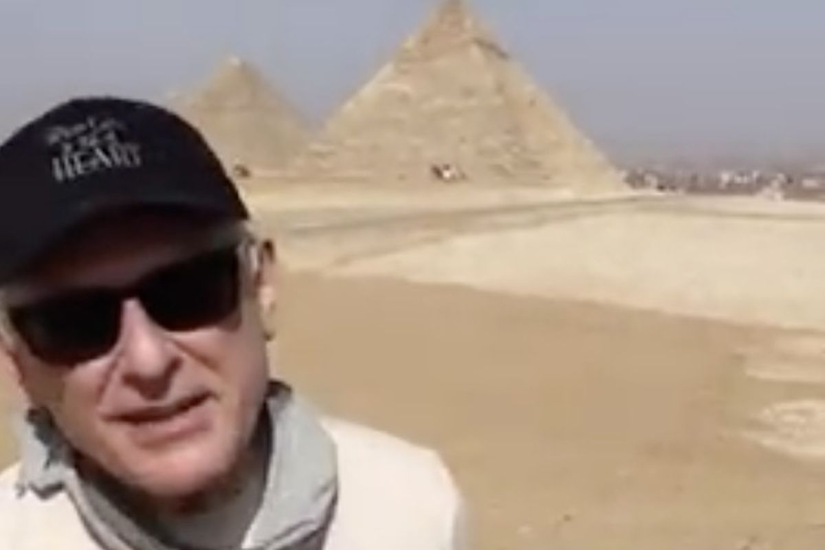 """John Sereda, who composes the music for the Hallmark Channel show """"When Calls the Heart,"""" recently shared a video to YouTube in which he greets fans all the way from Egypt."""