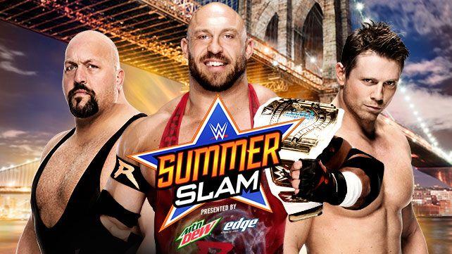 WWE summerslam ryback miz big show