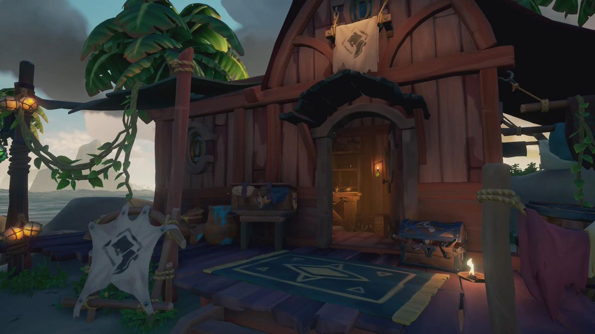 sea of thieves shop guide