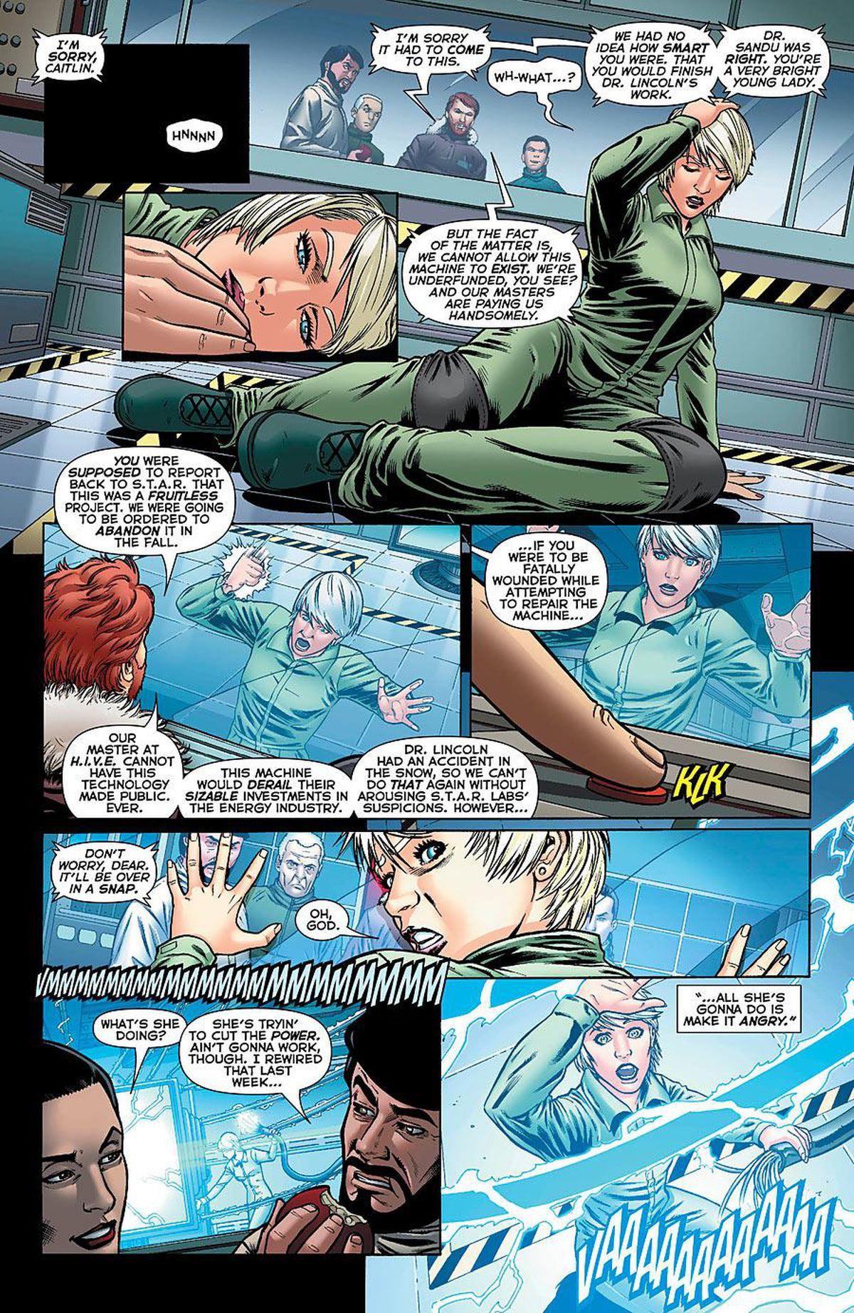 Caitlin Snow Comics