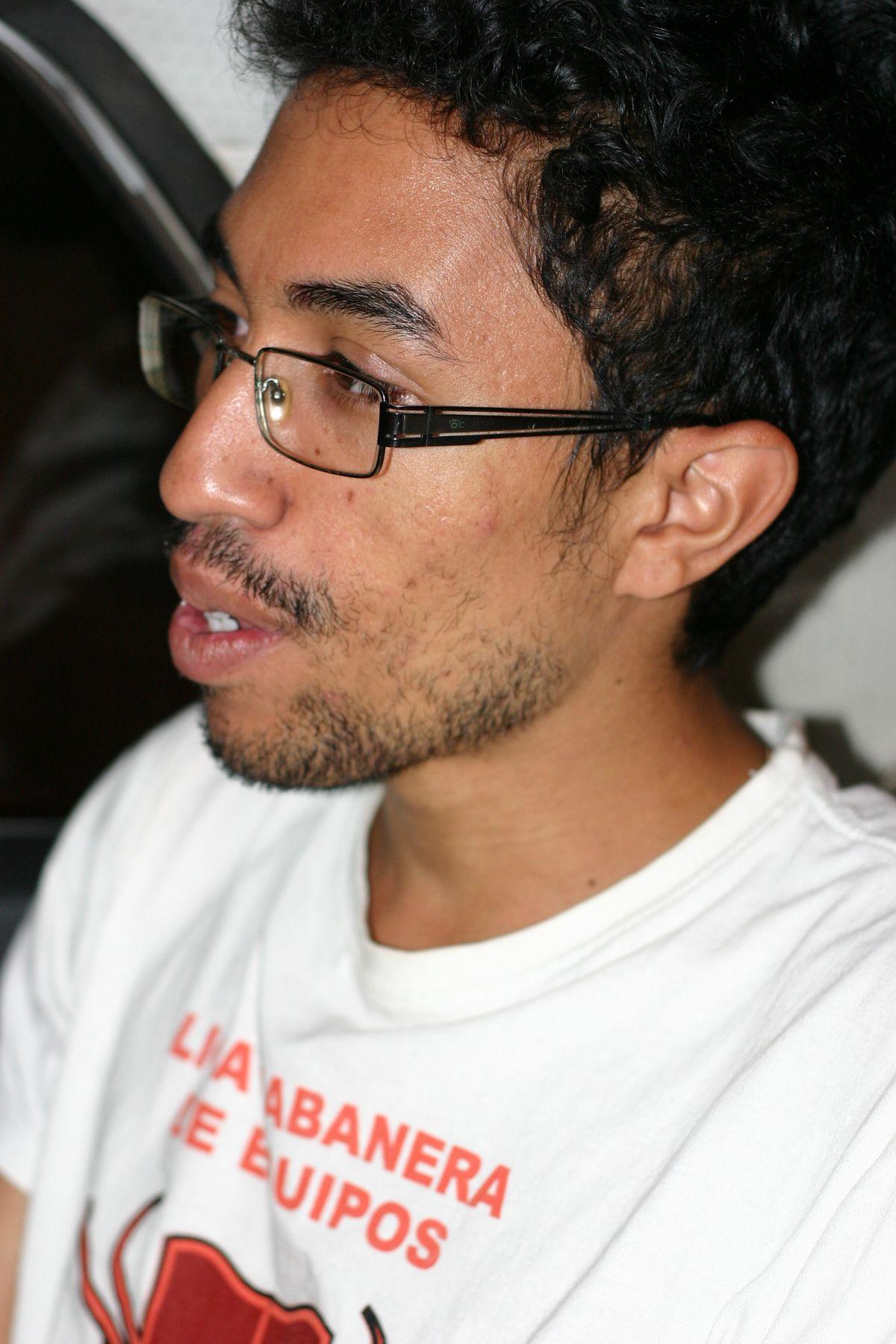 Ien Pedro Carbonell, president of ADEC