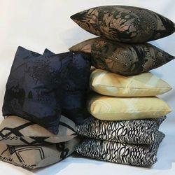 Mociun pillows, $80 to $100.