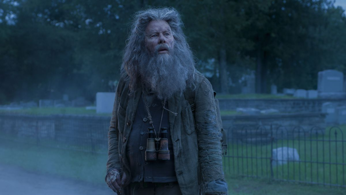 Tom Waits as Hermit Bob in The Dead Don't Die.