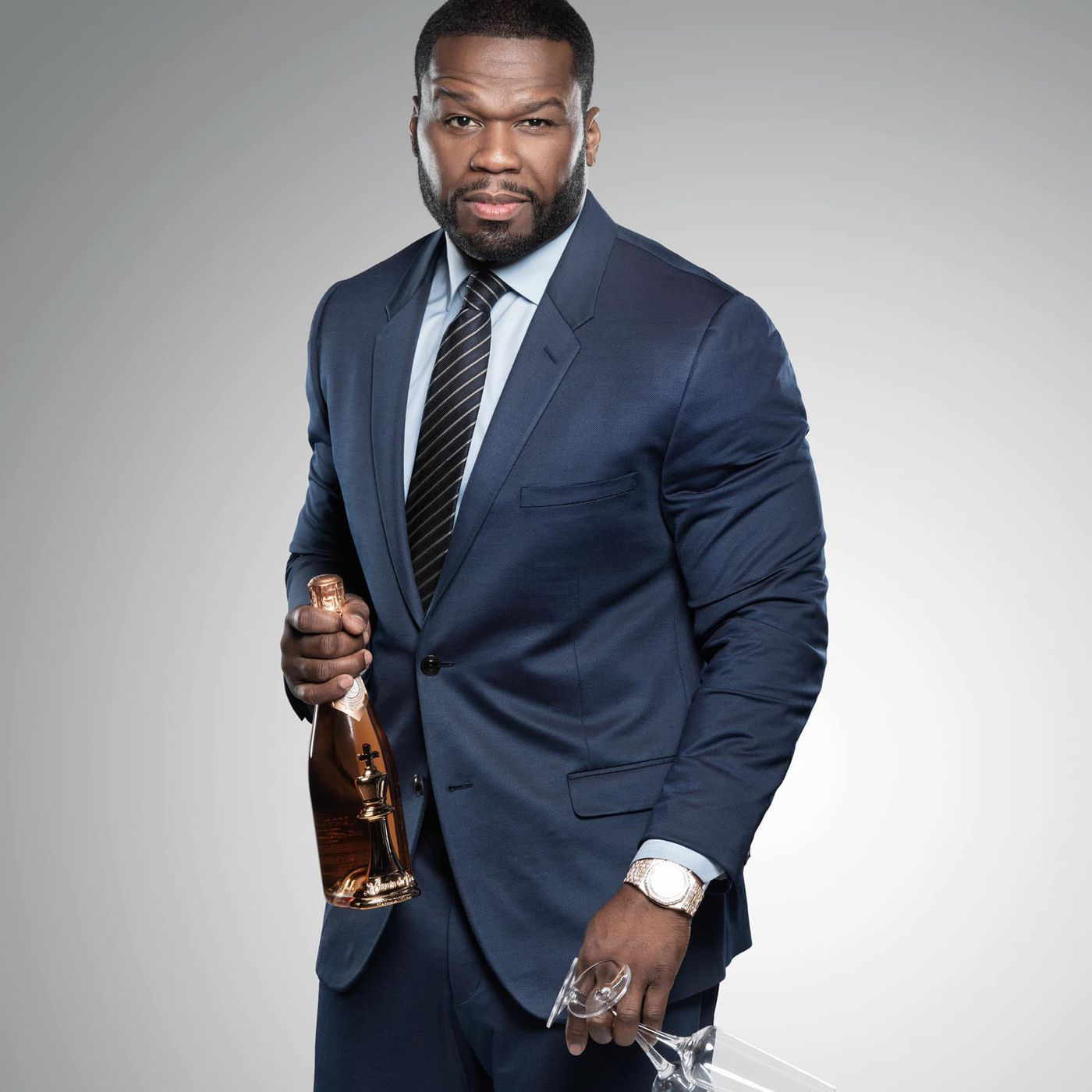 Rapper 50 Cent Will Host a Pricey, Cognac-Drenched Dinner in Dallas Next Month - Eater Dallas