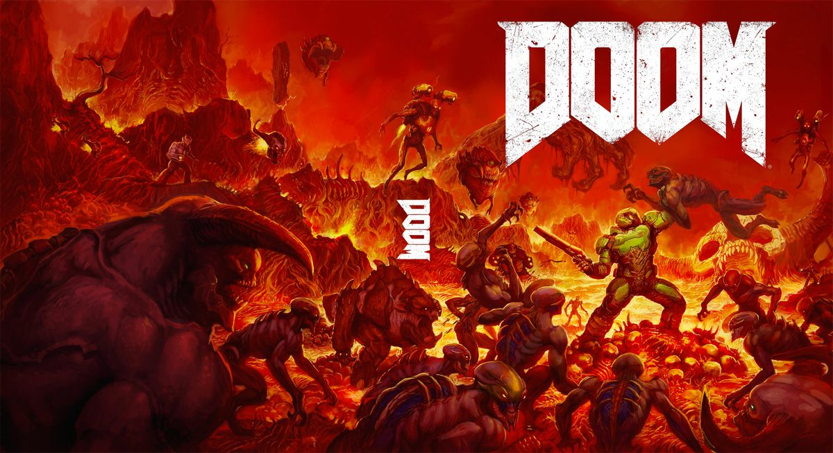 The new Doom is getting alternate box art that looks way