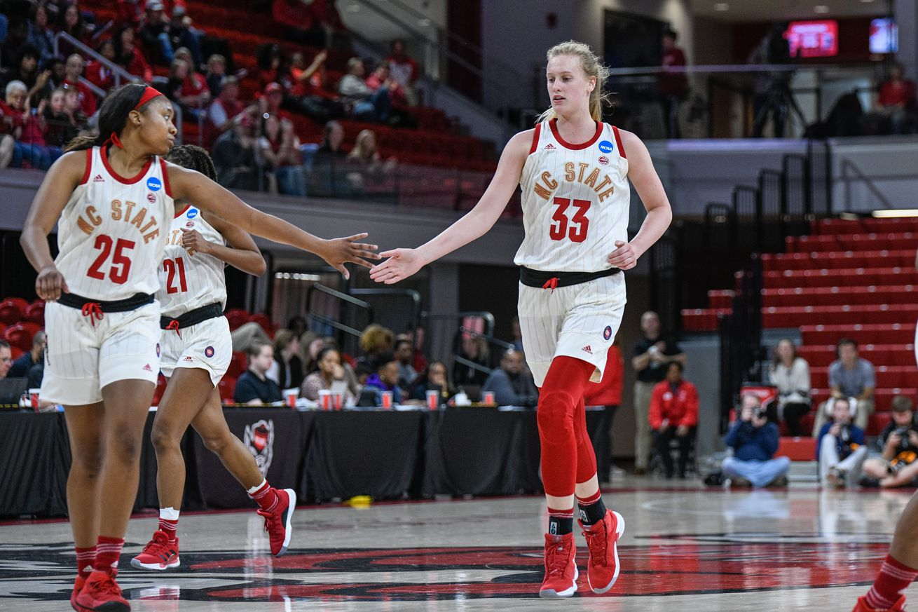 NCAA BASKETBALL: MAR 23 Div I Women's Championship - First Round - Maine v NC State