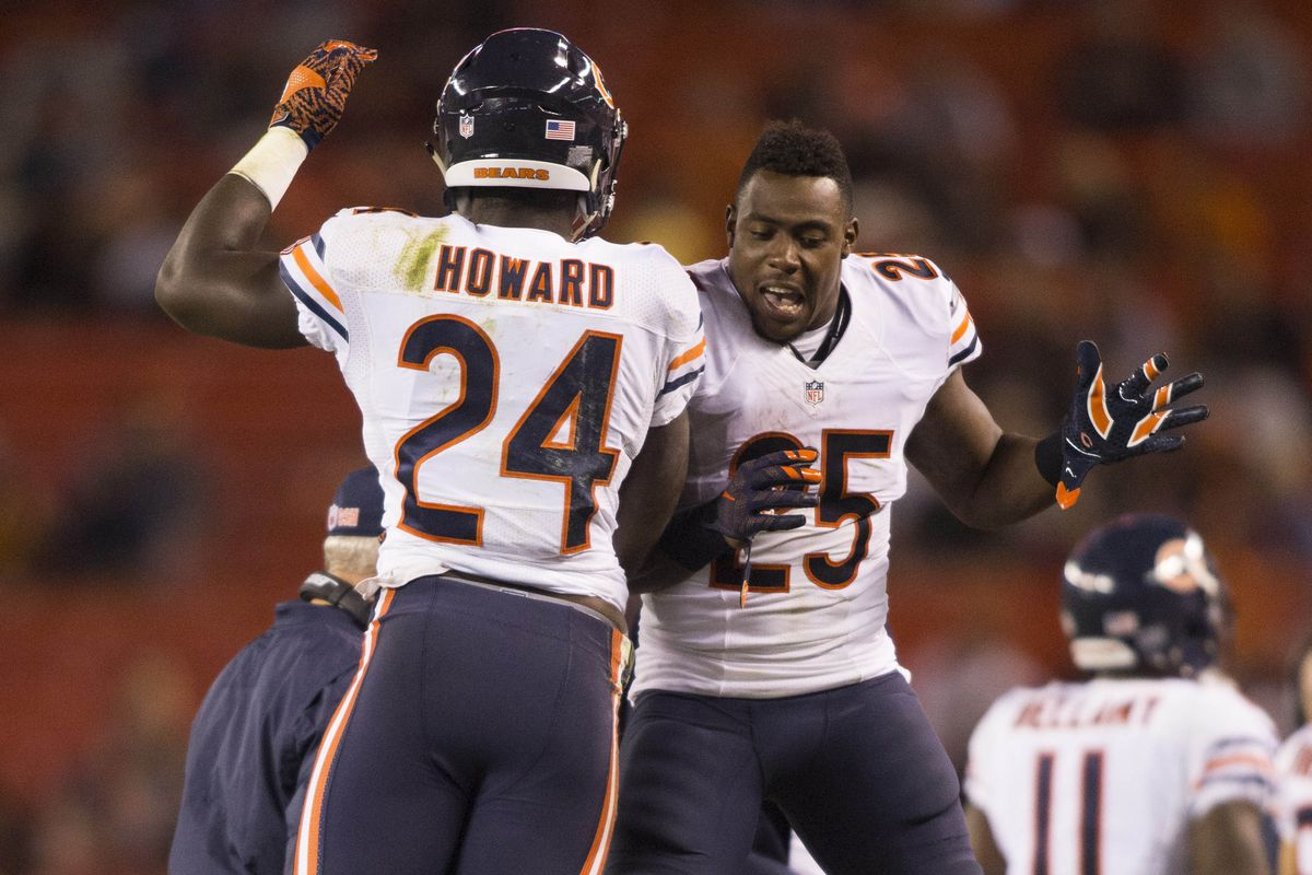 Howard & Carey should both be important members of this year's Chicago Bears team
