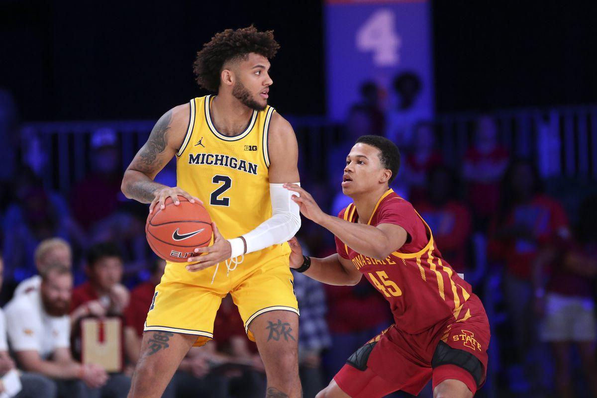 NCAA Basketball: Battle 4 Atlantis-Michigan at Iowa State