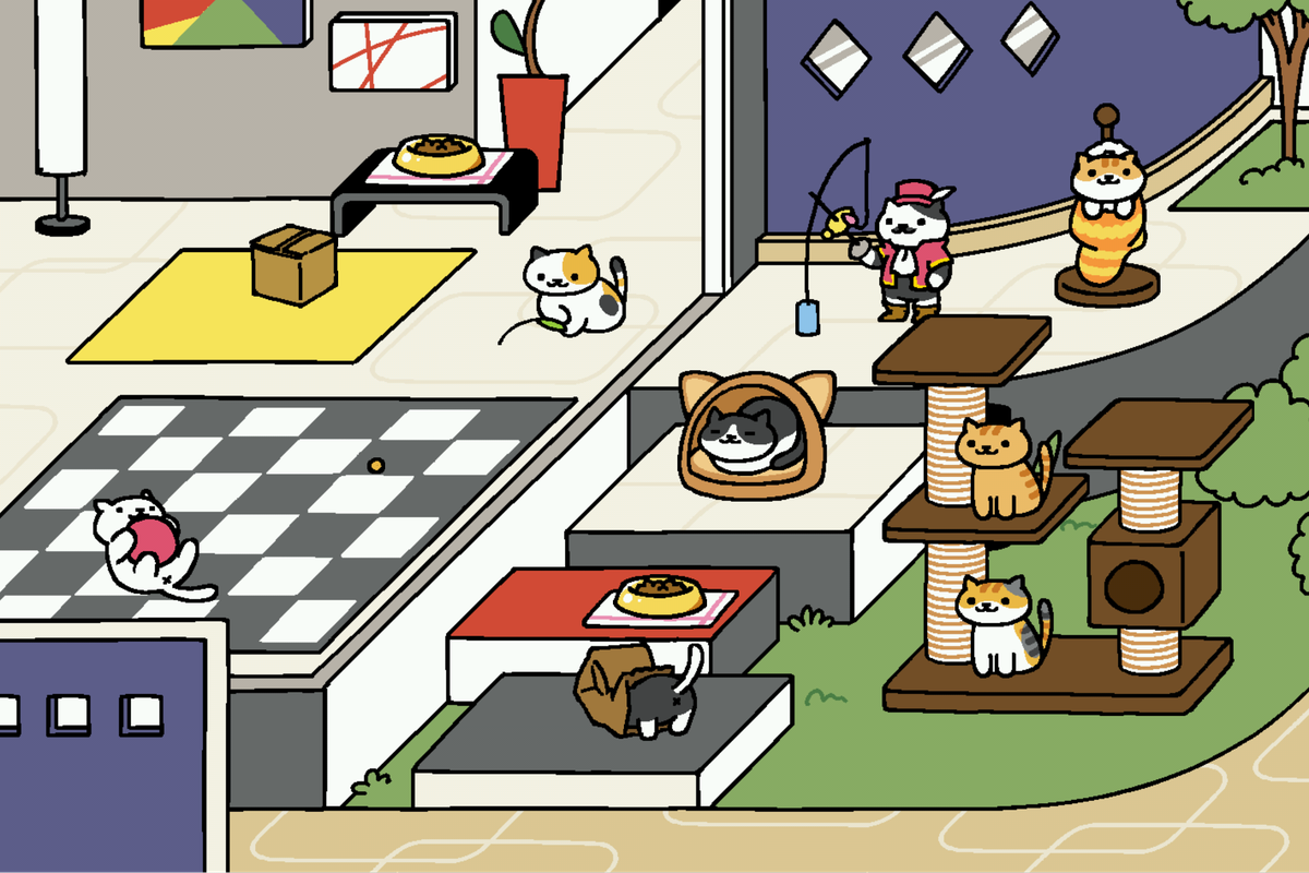 Inside Neko Atsume, the Japanese cat-collecting game taking