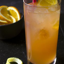 Champagne punch from Tony Abou-Ganim