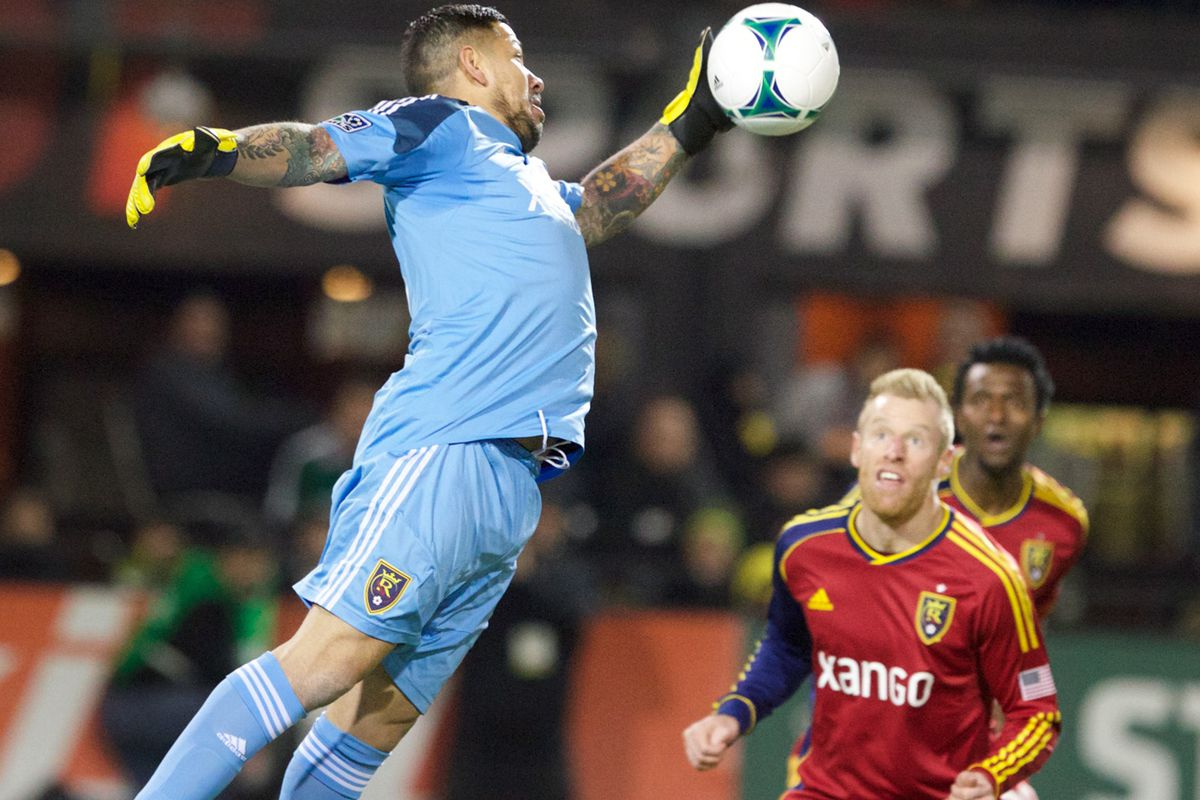 Nick Rimando: Arguably Major League Soccer's best keeper, and the man backing up RSL's brick wall.