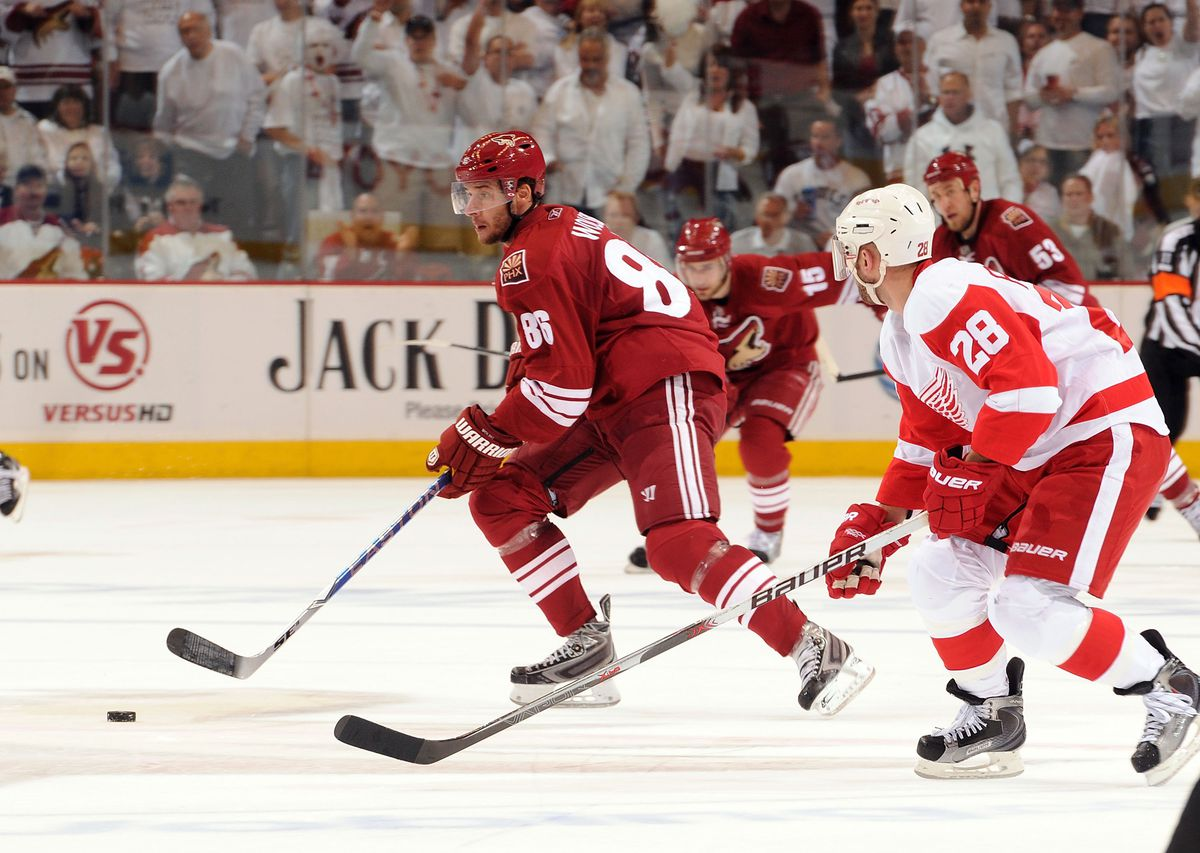 Detroit Red Wings v Phoenix Coyotes-Game Seven