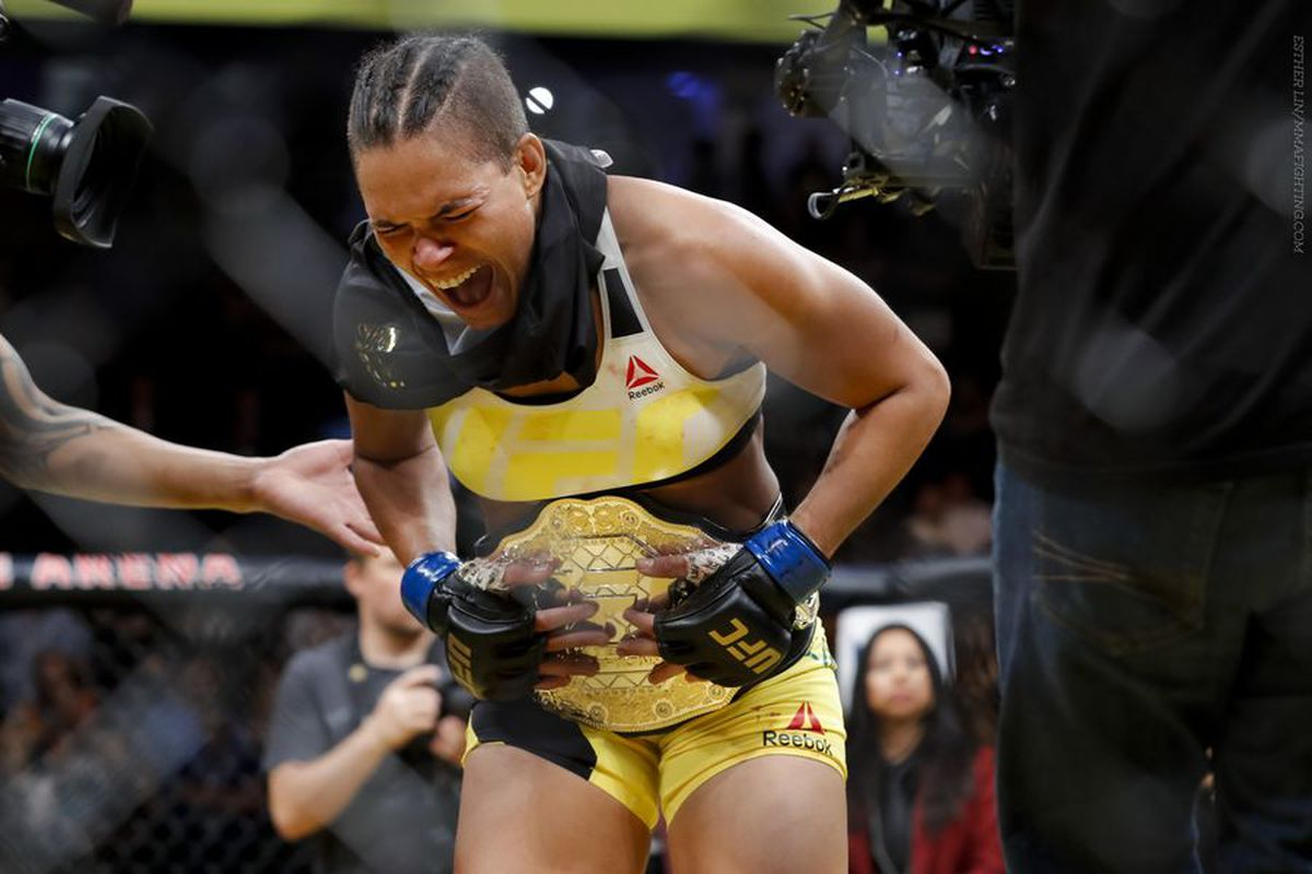 Amanda Tate amanda nunes: roar of the lioness - mma fighting