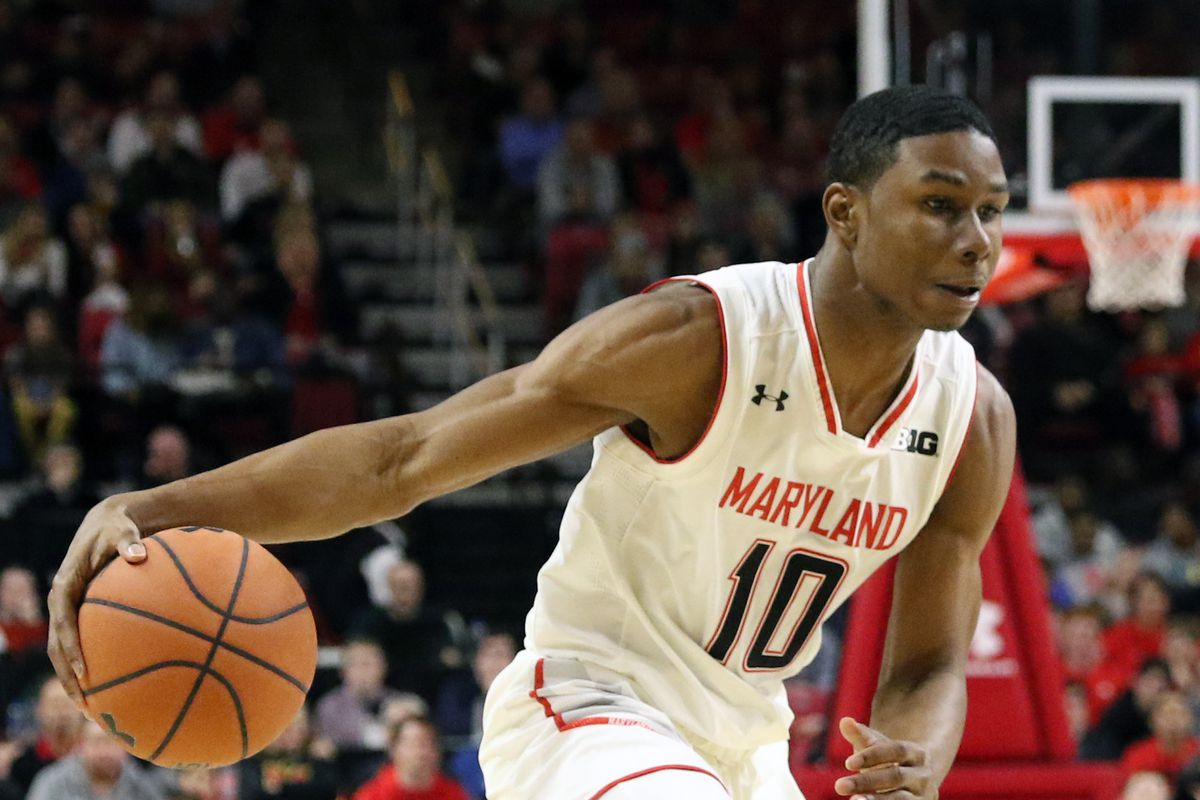 Maryland basketball Serrel Smith Jr. vs Indiana