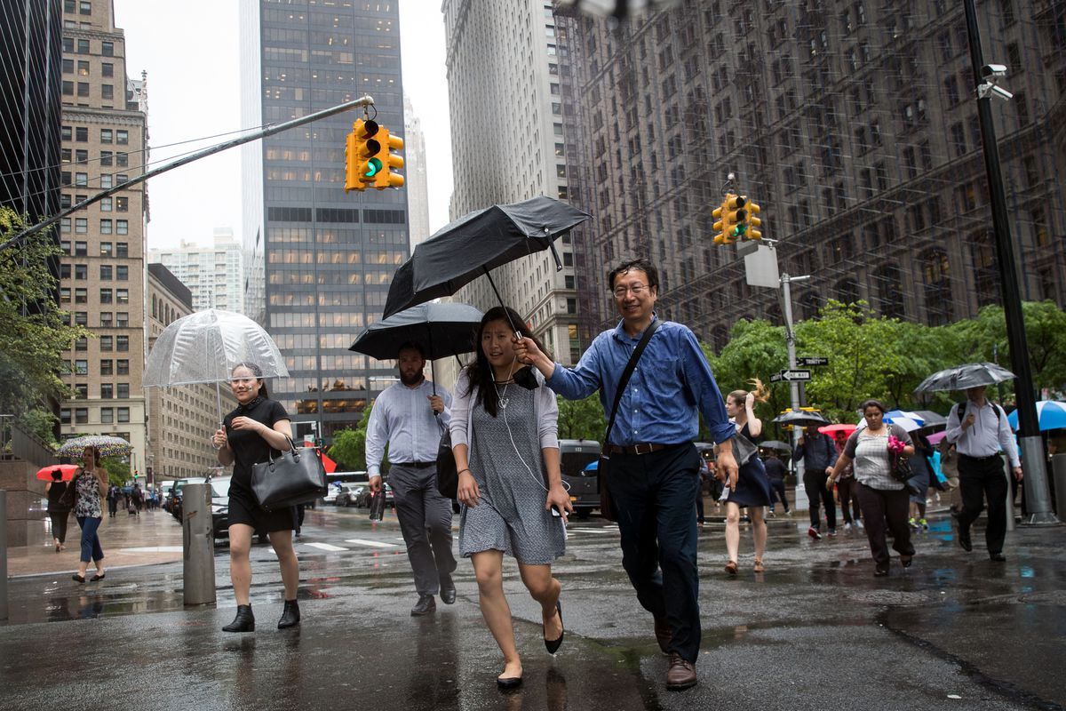 Torrential Storms Expected To Bring Up To 3 Inches Of Rain To New York City