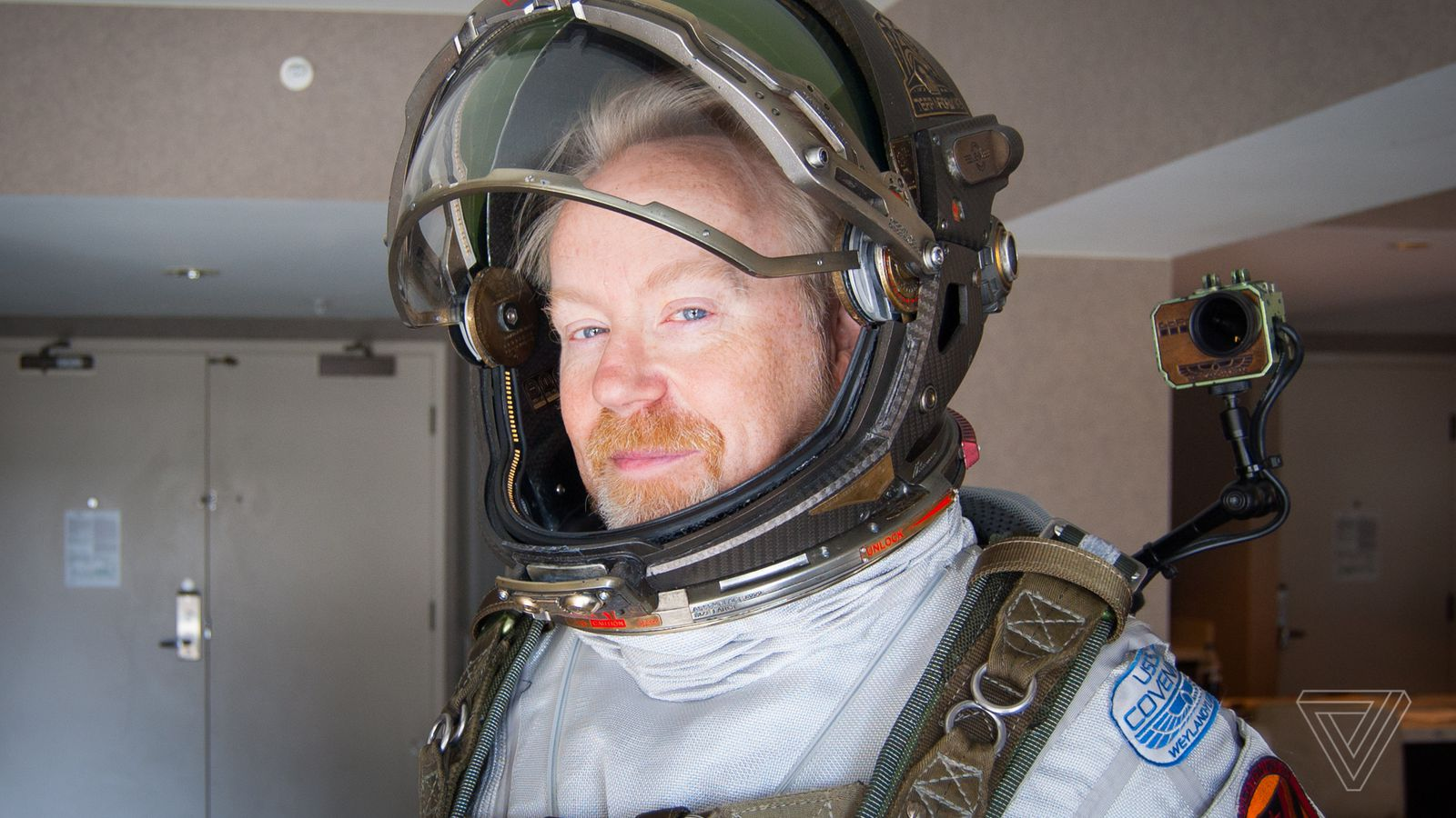 Adam Savage explains why space suits are his happy place