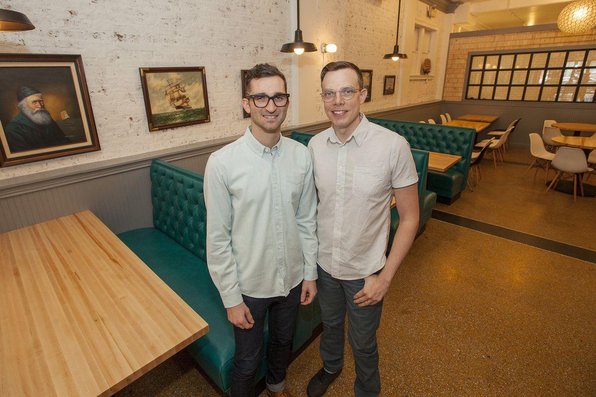 Danny Shapiro and Matt Danko at Sink Swim