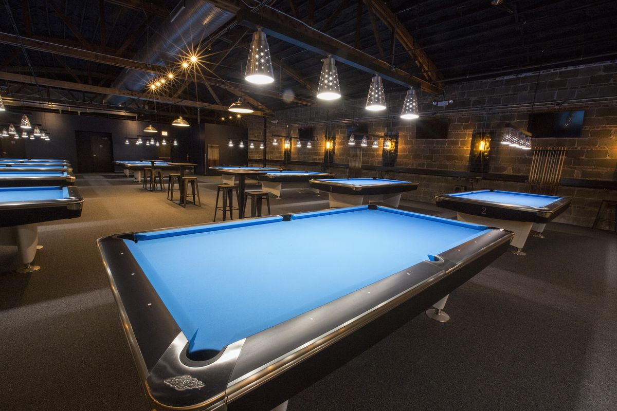Tour This Albany Park Pool Hall Transformed After Years Eater - Pool table hall near me