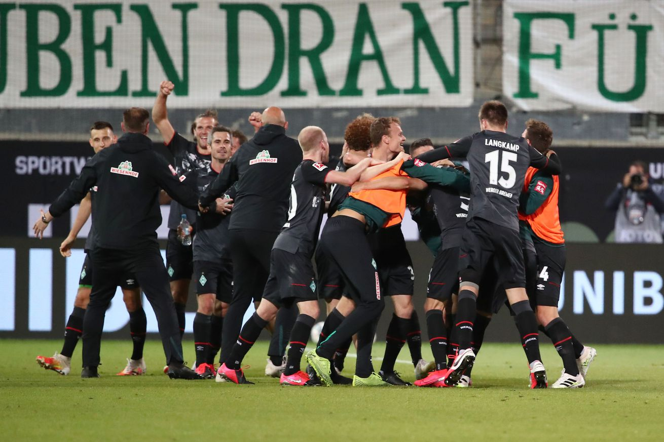 Survival of the fittest: Werder Bremen win relegation playoff, stay up in the Bundesliga