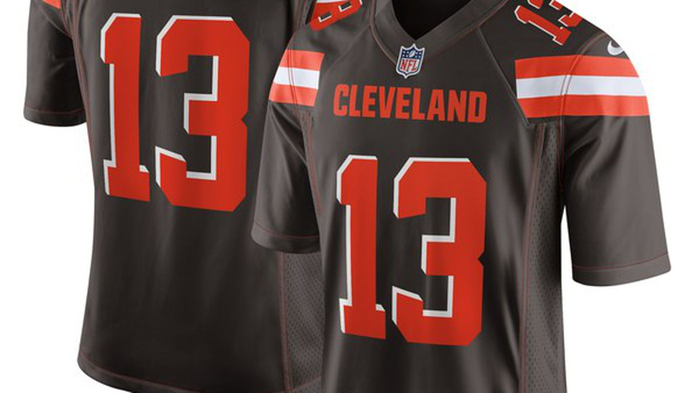 online store 05e3a a1fee The Odell Beckham Jr. Cleveland Browns jerseys have dropped ...