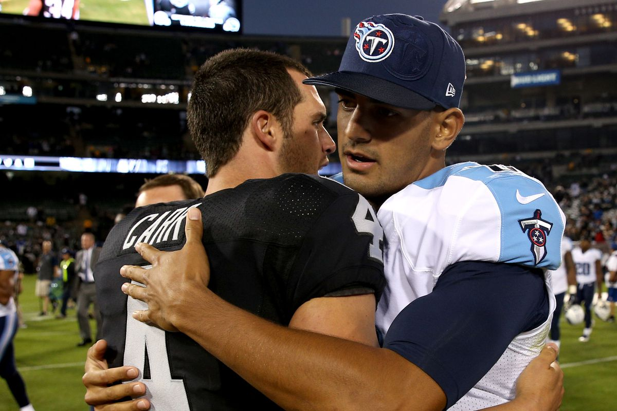 Carr and Mariota - two guys to get excited about for the future of the game