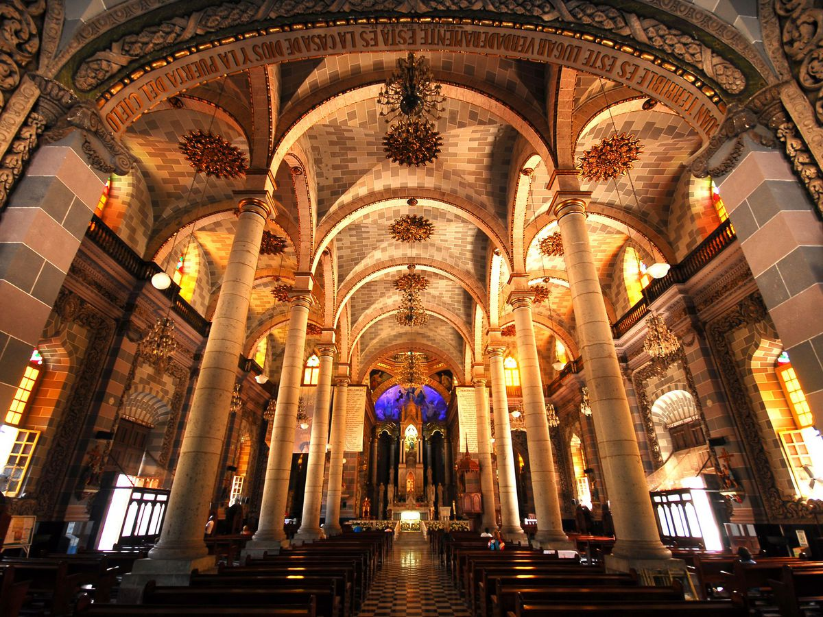 Cathedral of the Immaculate Conception, notable for its gilded triple altar, was built in the 19th century. | Courtesy Mazatlán Tourism Board