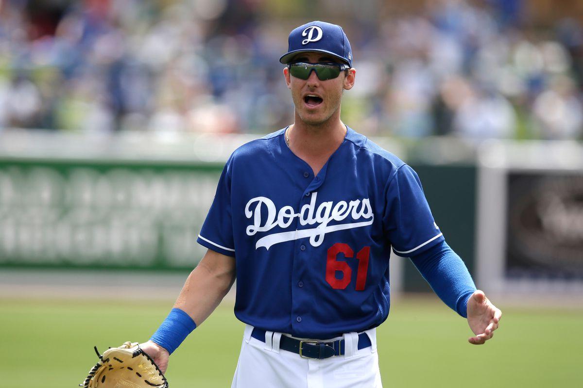 MLB: Spring Training-Oakland Athletics at Los Angeles Dodgers
