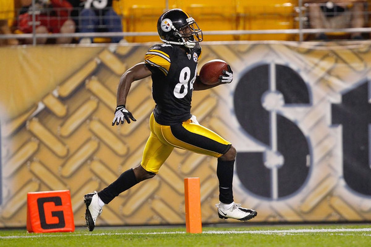 Antonio Brown is also doing touchdown-related activities without Dan LeFevour. I guess the Steelers chose wisely.