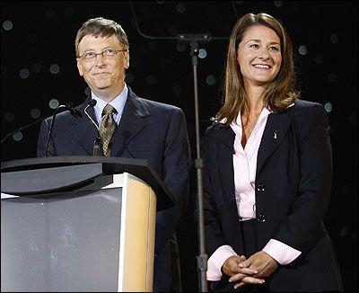 Bill and Melinda Gates (via Flickr)