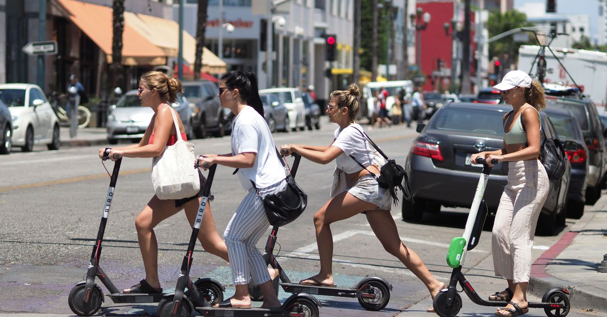 Electric Scooters For Sale >> How fast will scooters get in LA? - Curbed LA