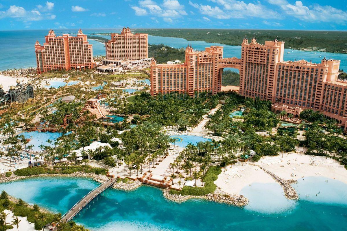 Atlantis Resort hosts Miami Heat