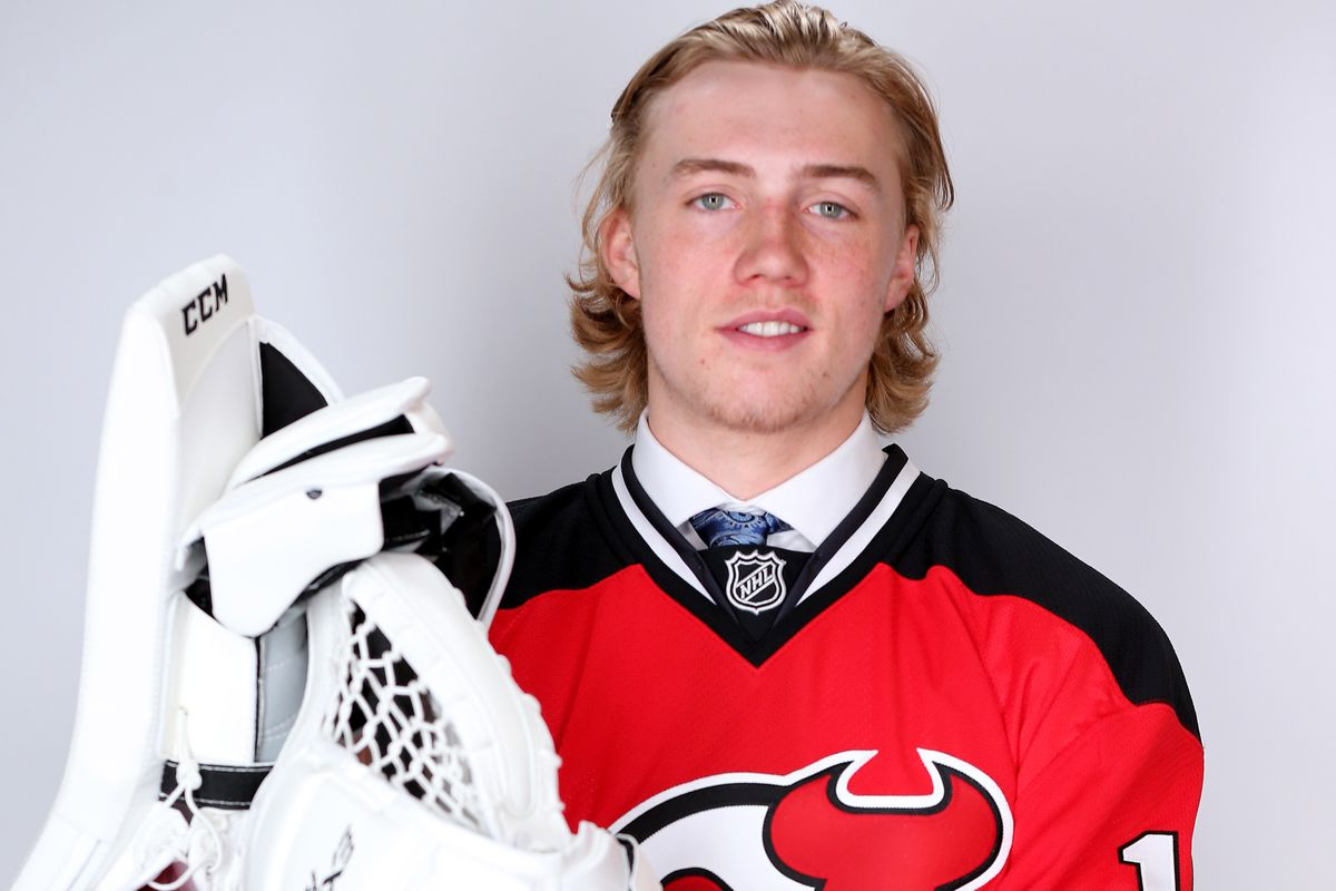 He's going pro! Mackenzie Blackwood the reigning OHL Goaltender of the Year has given Devils fans plenty of reasons to be excited.