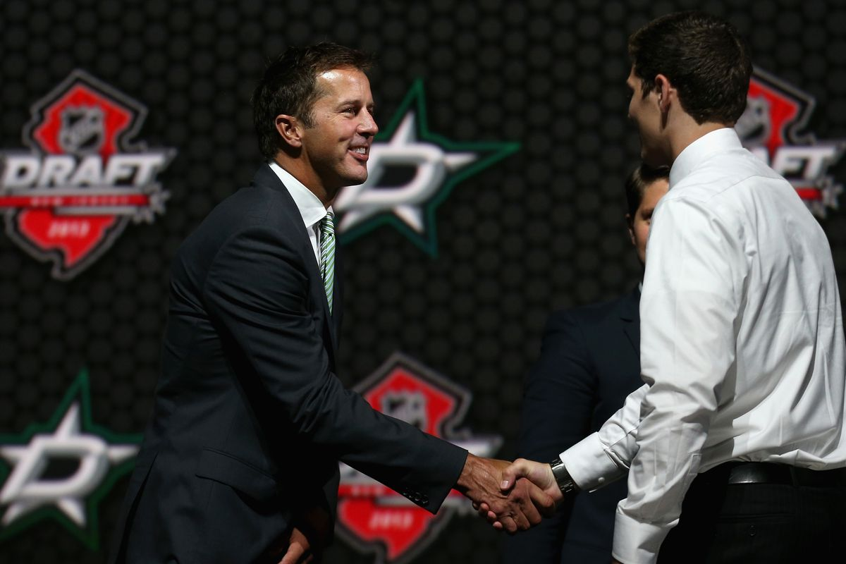 Whose hand will Modano be shaking at the 2014 NHL Draft?