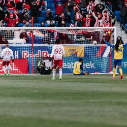 There it is: 1-0 to the Red Bulls
