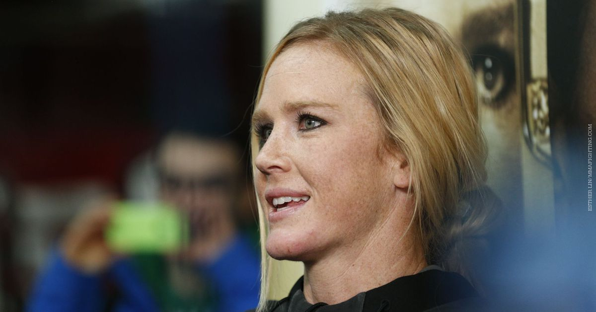 Holly Holm not contemplating retirement any time soon: 'I'm still ranked right up at the top for a reason'
