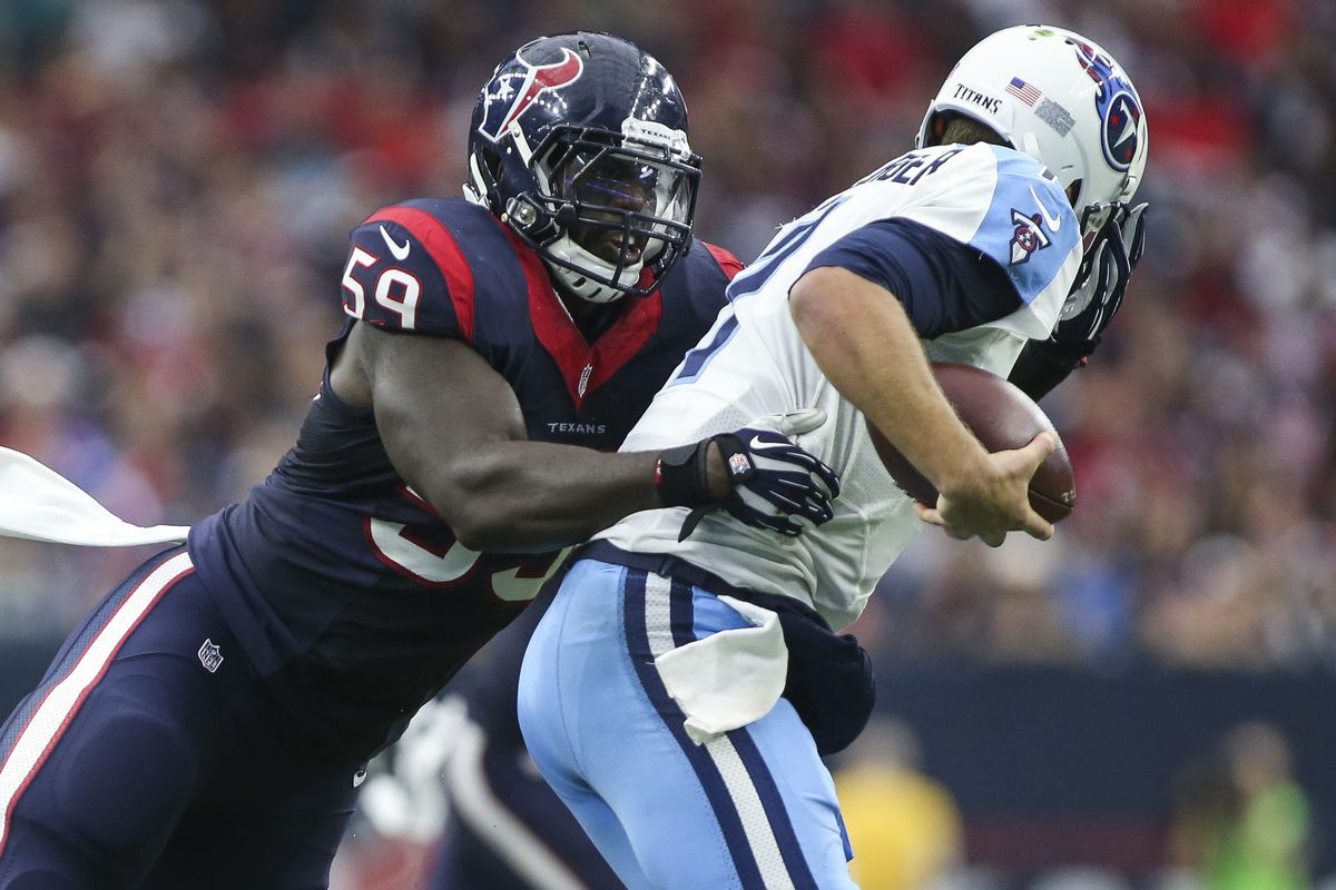Whitney Mercilus steps out from Jadeveon Clowney s shadow to keep
