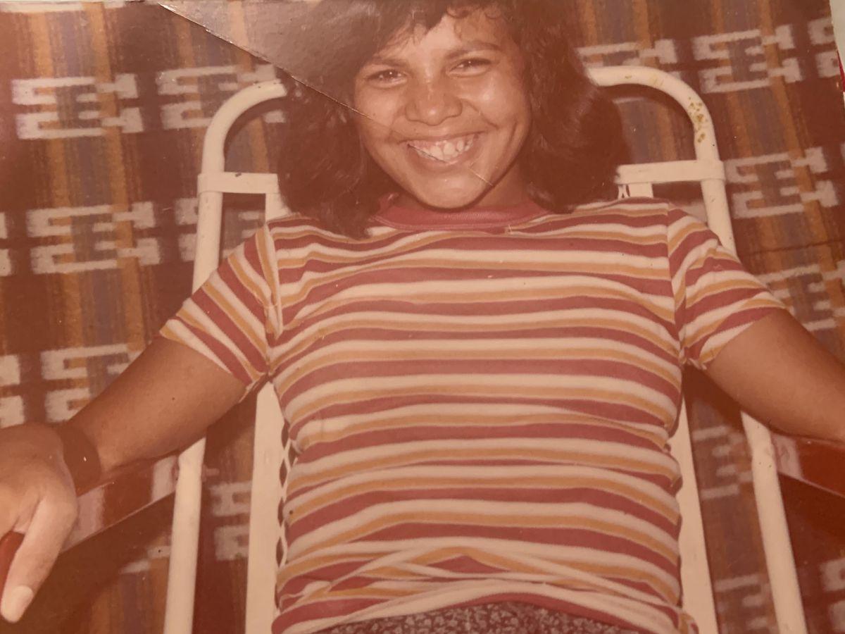 Norma Alicia Cruz at 12, living in Coahuila, Mexico.